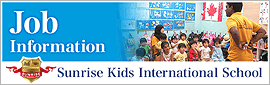 Surise Kids International School JOB Information